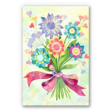 Acrylglasbild Blanz - Blumenstrauß