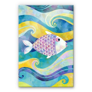 Acrylglasbild Blanz - Der kleine Fisch
