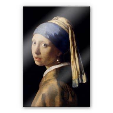 Acrylglas Vermeer – Het meisje met de parel