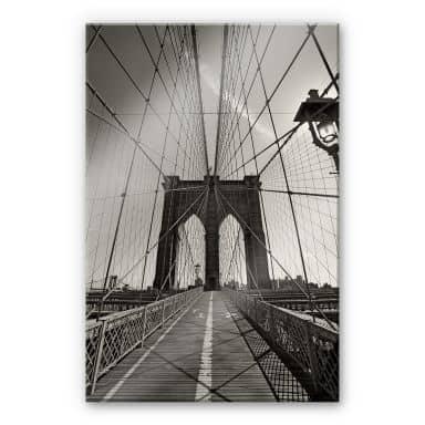 Acrylic glass Brookly Bridge Perspective