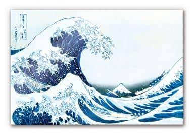 Acrylglasbild Hokusai - Die große Welle