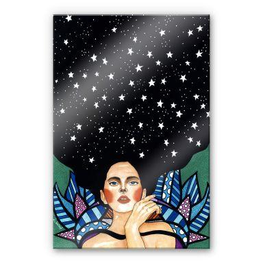 Acrylglasbild Hülya - Es gibt kein Morgen