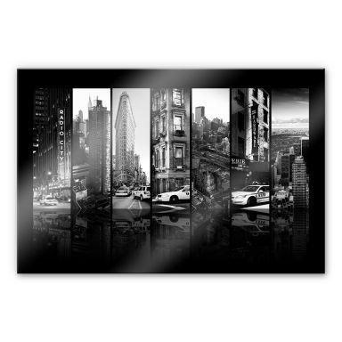 Acrylglasbild Hugonnard - New York Scenes
