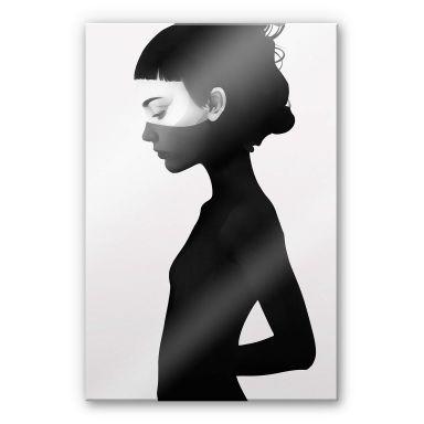 Acrylglasbild Ireland - I am not here