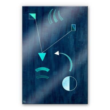 Acrylic Print Kandinsky - Where to