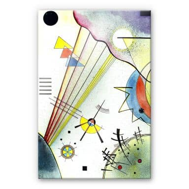 Acrylic Print Kandinsky - Clear Connection