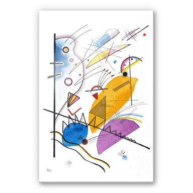 Acrylic Kandinsky - Ongoing Stripe