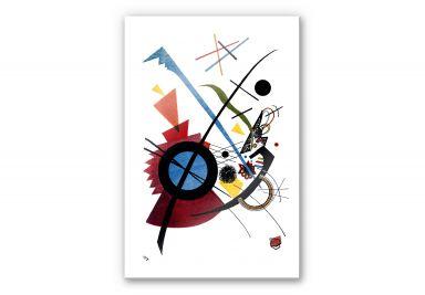 Acrylglasbild Kandinsky - Violett