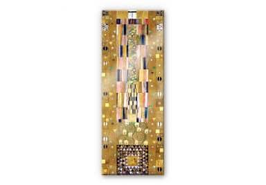 Acrylglasbild Klimt - Werkvorlage für den Stocletfries