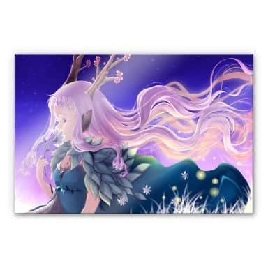 Acrylglasbild La Doll Blanche - Lumi