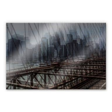 Acrylglasbild Massimo - New York City