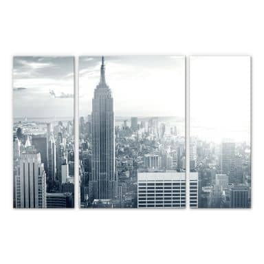 Acrylic glass The Empire State Building (3-piece)