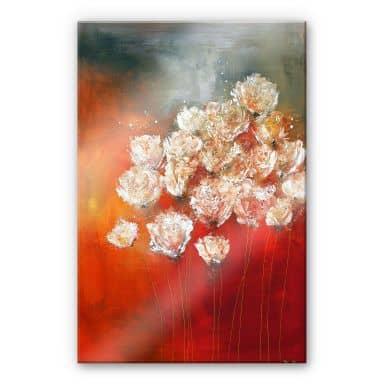 Acrylglasbild Melz - Wilder Mohn