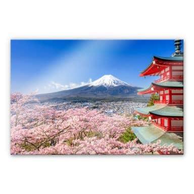 Acrylglasbild Mount Fuji