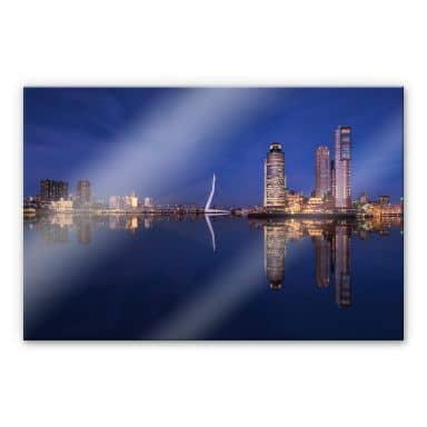 Acrylglasbild Pablo - Rotterdam