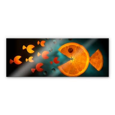 Acrylglasbild Ianeva - Sweet Carrot - Panorama
