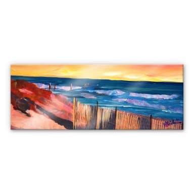 Acrylglasbild Bleichner - Die Hamptons - Panorama