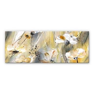 Tableau en verre acrylique - Niksic - Little Flower - Panorama