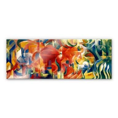Marc - Playing Shapes - Acrylic glass panorama