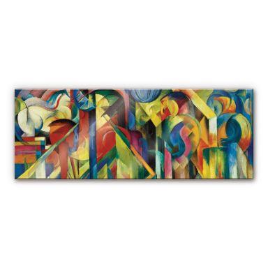 Acrylglasbild Marc - Stallungen