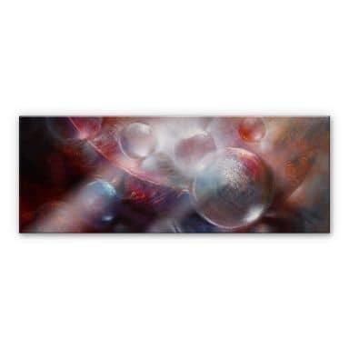 Acrylic print Schmucker - Light as a feather - panorama