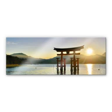 Itsukushima Shrine - Panorama Acrylic print