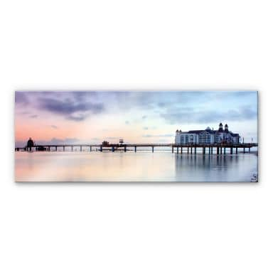 Acrylic glass Pier Sellin - Panorama