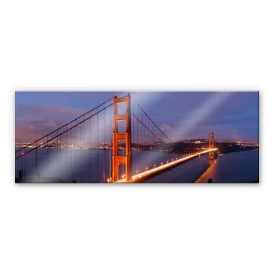 XXL Wandbild Golden Gate Bridge Panorama