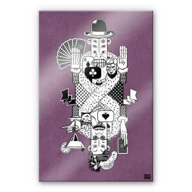Acrylglasbild Drawstore - Playing Cards