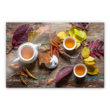 Acrylglasbild Aristov - Tea of September