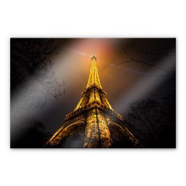 Acrylglasbild Geiger - La Tour Eiffel