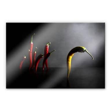 Acrylglasbild Ivanova - Hit the road, Chilipepper