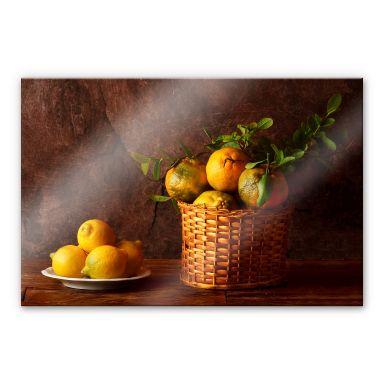 Acrylglasbild Laercio - Farmers Lemons