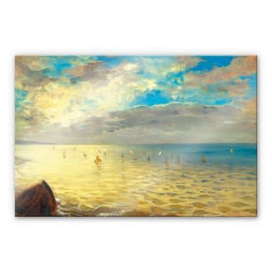 Delacroix - The Sea - Acrylic Glass