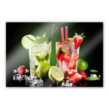 Tableau en verre acrylique - Cocktail Hour