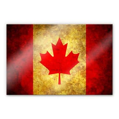 Acrylic glass The Maple Leaf