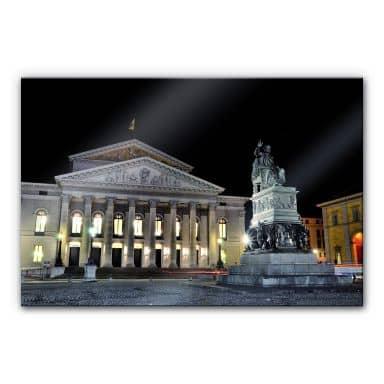 Acrylglasbild Bayerische Staatsoper München