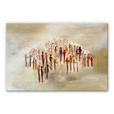 Acrylglasbild Melz - People 02