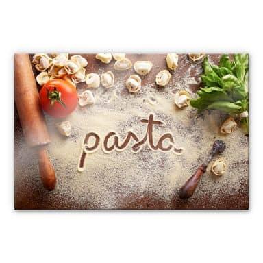 Acrylic glass Pasta - Tortellini