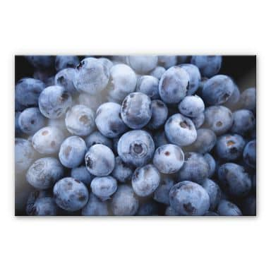 Acrylic glass Blueberries