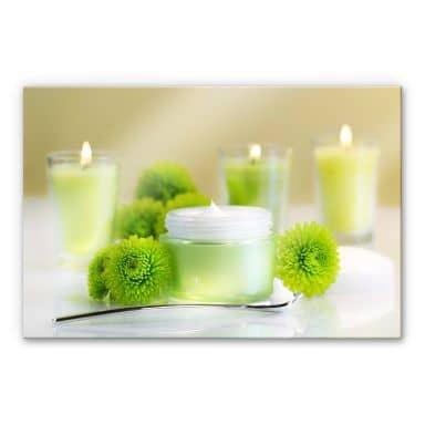 Acrylglas Candle Lemon