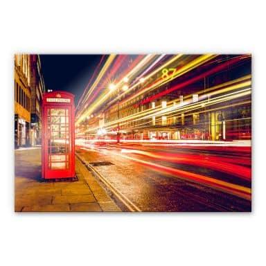 Acrylglasbild London City Lights