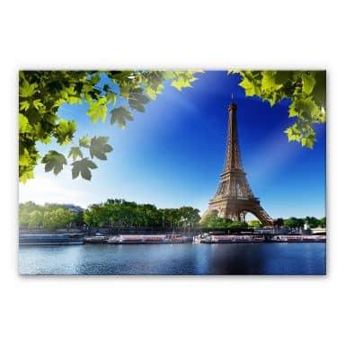 Acrylglasbild Summer in Paris
