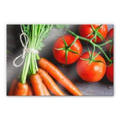 Acrylglasbild Fresh Cooking