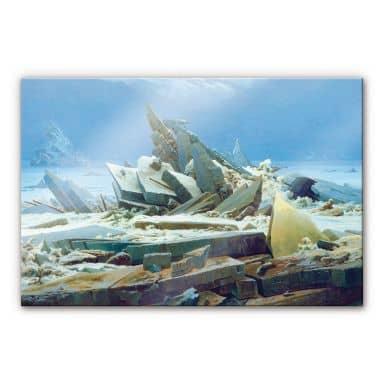 Acrylglasbild Friedrich - Das Eismeer