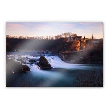 Acrylglasbild Rheinfall