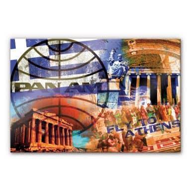 Acrylglasbild PAN AM - Athen