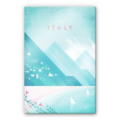 Acrylglasbild Rivers - Italien