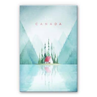 Acrylglasbild Rivers - Kanada