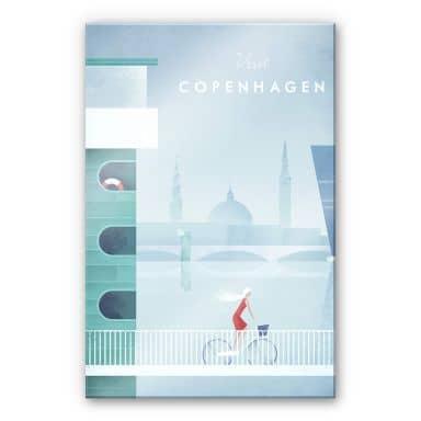 Acrylglasbild Rivers - Kopenhagen